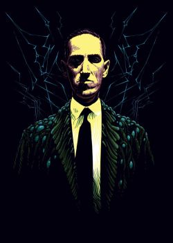Howard Phillips Lovecraft by SergiyKrykun