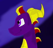 A Simple Spyro by MisterAldra