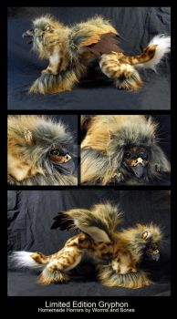 Limited Edition Gryphon by WormsandBones