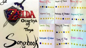 Zelda Songbook Pages by SnowBnny