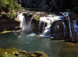 Lower Falls by Tanager