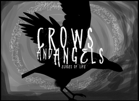 Crows and Angels by echosoflife