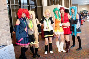 Vocaloid Group @ San Japan 6 by akaolive