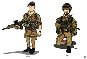 British_Royal_Marines_Commando by darthpandanl