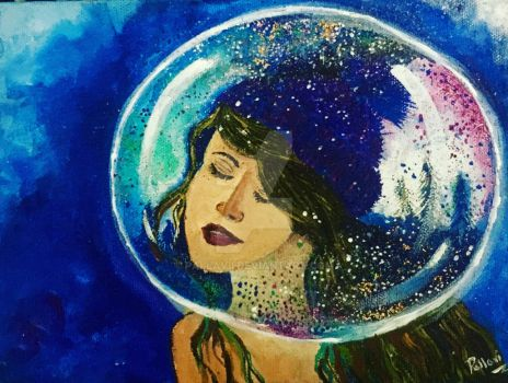 In Her Bubble by PaLlAvII