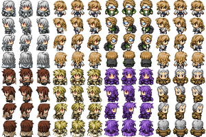 Demon Hunt RPG Sprites [Side Characters 01] by DemonHuntRPG