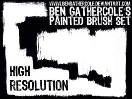 Ben's hi-res brush set by BenGathercole