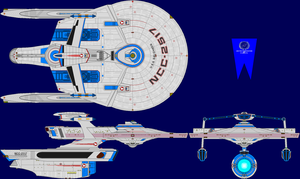 USS Dalghren Multi-View by captshade