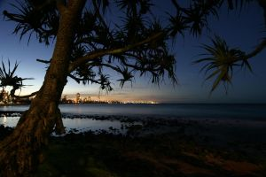 Burleigh Dusk by theDexperience