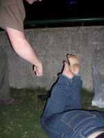 Foot violence by StellaPhotos