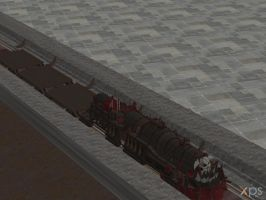 XPS Release!!! Space Marine Train System by Merytaten-tasherit