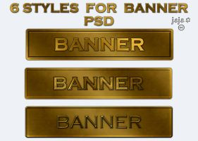 Styles for banner PSD by jojo-ojoj