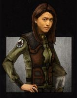 Sharon by LukeDenby