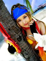 Thief Rikku by pinkyluxun