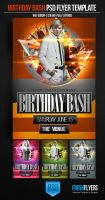 Birthday Bash PSD Template by ImperialFlyers