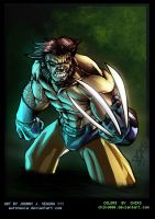 Wolvie Color Warm Up by Chiko666