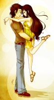 P3 - Jamie and Ellie - The Yellow Dress by MaraAum