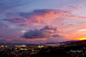 Port of Spain Nightscape by Imaginationgirl2