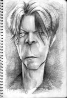 David Bowie by Parpa