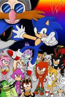 Sonic Team by PlatinumxRose