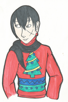 Bennett in a Christmas Sweater by ParzifalsJudgment