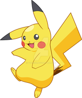 .:Pokedex: 025 Pikachu:. by Volmise