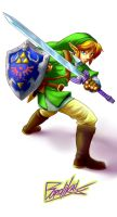The Legend of Zelda Ocarina of Time by rend-sukioka
