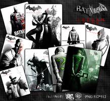 Batman Arkham City iconpack by Ahssassin0