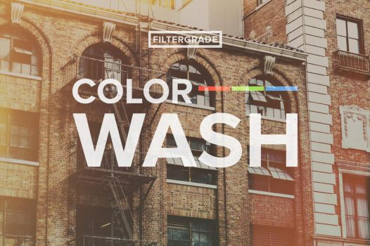 ColorWash - Summer Tone Photoshop Actions Bundle by filtergrade