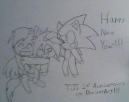 Happy new year by TJ0001