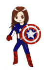 Theo as Captain America - dAvengers by Theo-VanGogh