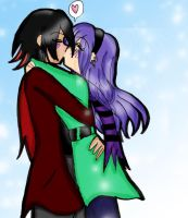 ::Winter Kissu x3 by Shadow-Luna