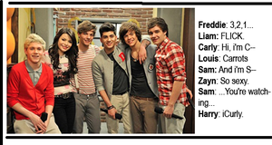 One Direction on iCarly by 1Dluverrr2708