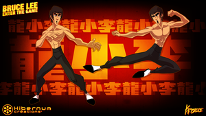 Bruce Lee Character Design by Kristele