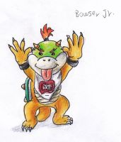 Bowser Jr by kanineious