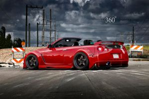 Nissan GTR by Intro92