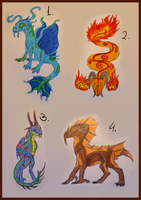 Cheap Unique creatures (CLOSED by Virensere