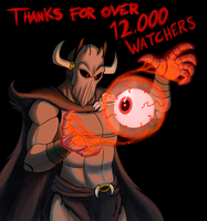 Thank You to All Watchers by Mickeymonster