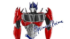 Optimus Prime by belindafish123