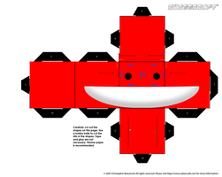 deadmau5 cubee by the-broken-0ne