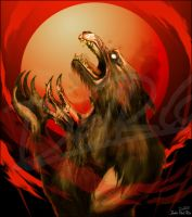 Lycan Lament by juliodelrio