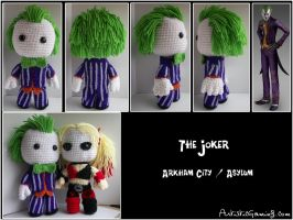 The Joker - Arkham City by GamerKirei