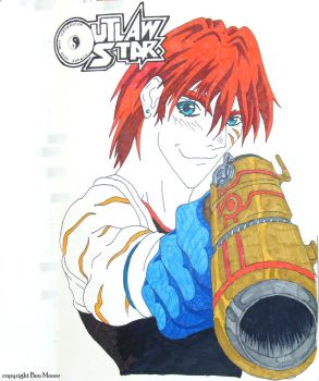 Outlaw Star by Ben Moore by Booth-House-ArtGroup