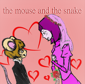 The Mouse And The Snake by dragonsoul2325