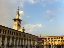 Umayyad mosque 8 by calligrafer
