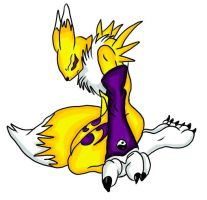 ::Collab- Renamon Crying by Chibi-Gazimon
