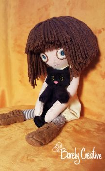 Fran Bow and Mr Midnight by BarelyCreative