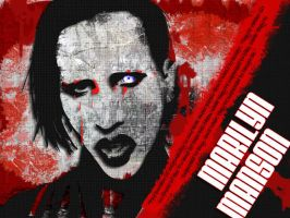 Marilyn Manson by odiami