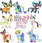 UniCat Herd Sheet 1 - Open For Breeding by RyesCreates