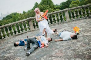 OMAKE-Euphie NERF Massacre by ArishigeAIKO